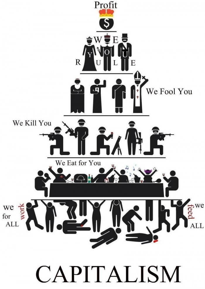Capitalism Reality Infographic