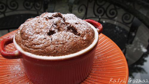 Simple Chocolate Souffle Recipe - RatedRalph.com