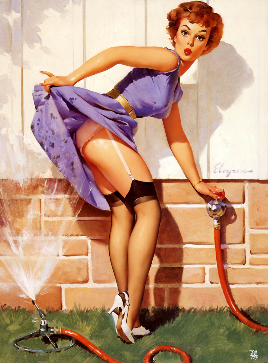 Pin-up de Elvgreen · conlosochosentidos.es