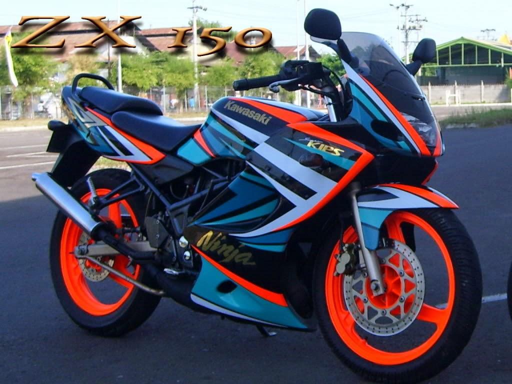 Modifikasi Suzuki Thunder Japstyle
