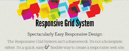 Responsive Grid System, by Graham Miller