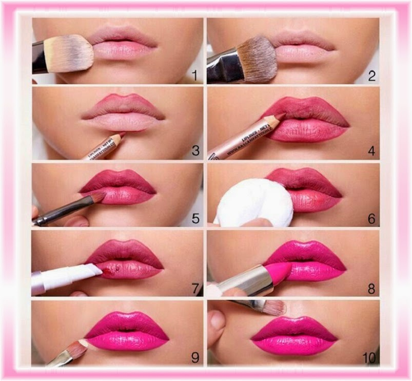 Lips Tutorial: How to apply lipstick