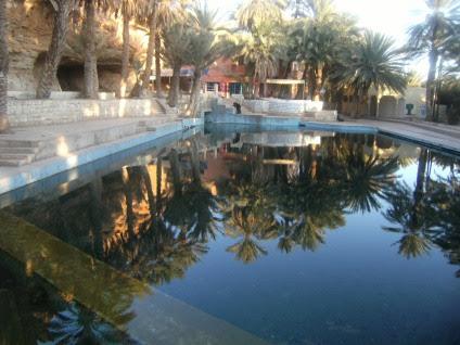 Source bleue de Meski bei Errachidia, Marokko