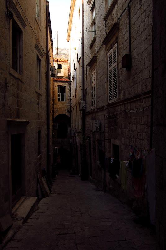 shadowy alley