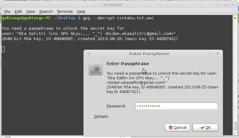 Proses Encrypt
