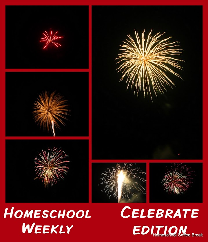Homeschool Weekly: Celebrate Edition on Homeschool Coffee Break @ kympossibleblog.blogspot.com
