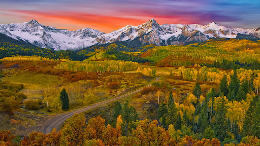 Sneffels Range Sunrise, San Juan Mountains, Colorado.jpg