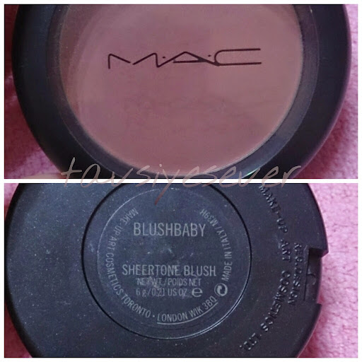 MAC BLUSHBABY ALLIK