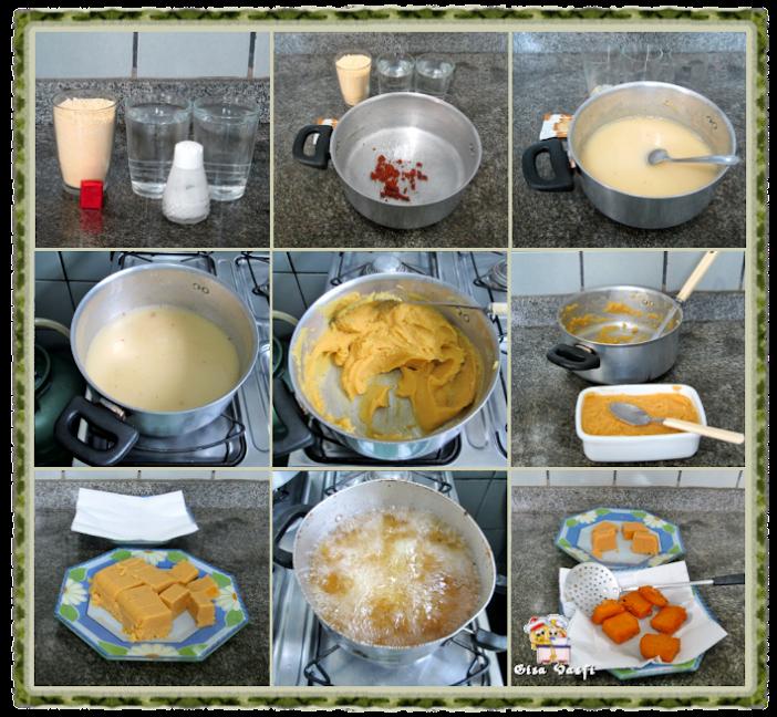 Rabada com agrião e polenta 6