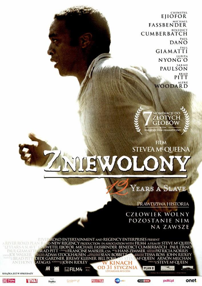 Ulotka filmu 'Zniewolony. 12 Years A Slave (przód)'