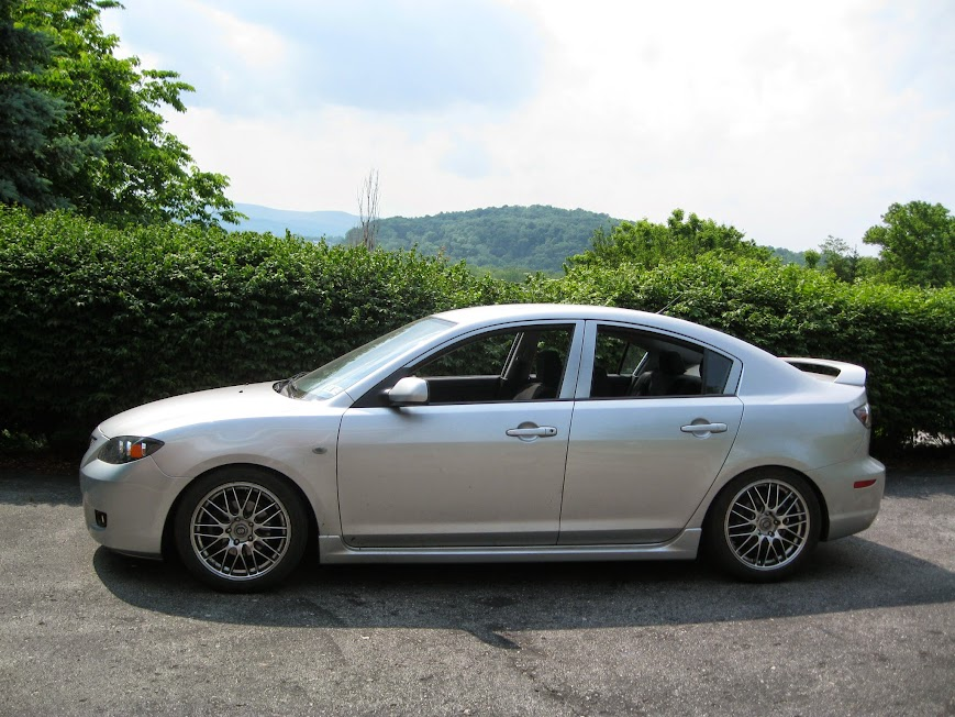Mazda 3 MPS on coilovers & 19's • Mazda MPS Owners Club