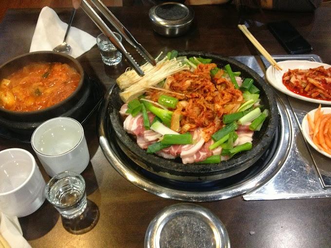 Pork Belly at Mandoo Hyang