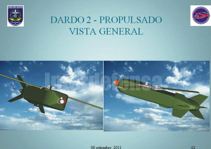 DARDO II, B, C, datos técnicos. 35