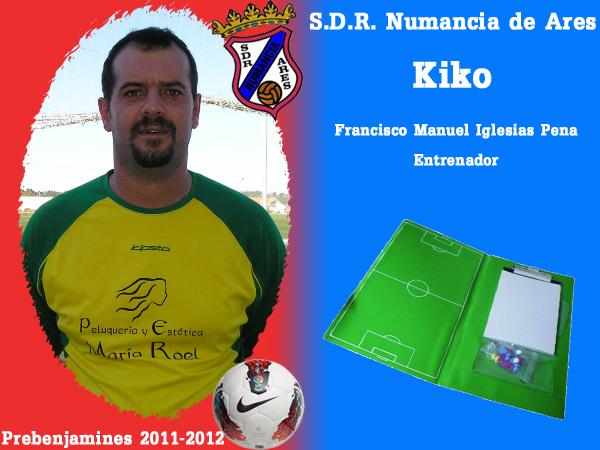 ADR Numancia de Ares. Prebenxamíns 2011-2012. KIKO.