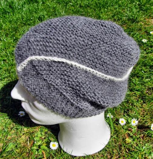 Mütze aus Alpakagarn