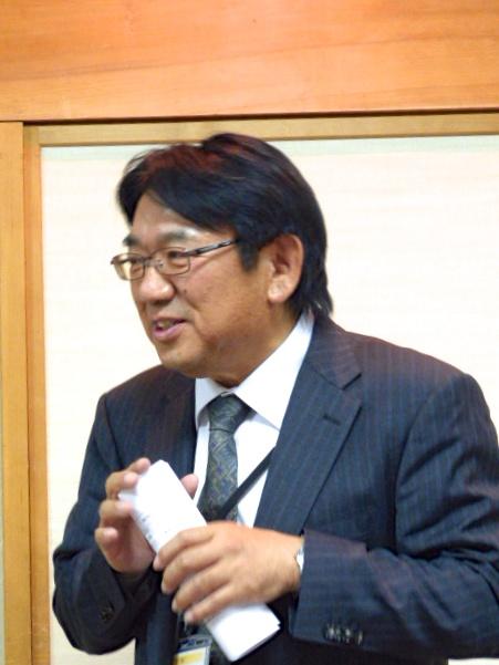 杉山泰裕さん