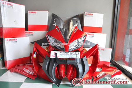 fairing yamaha r15 red