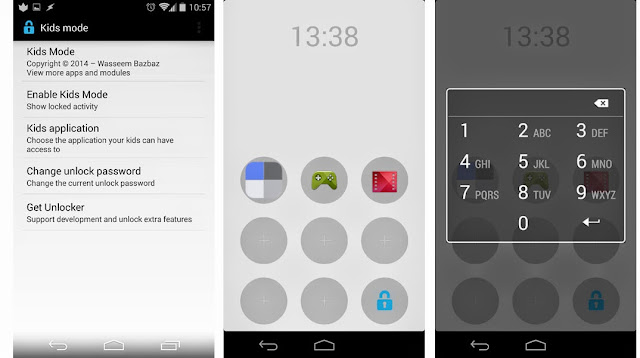 control parental en android