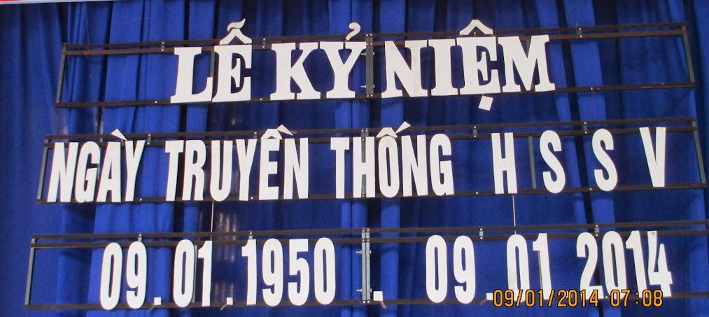 Lễ kỉ niệm 64 năm ngày SV-HV Việt Nam (09.01.1950-09.01.2014)