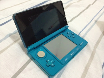 3DS Handheld, Opened