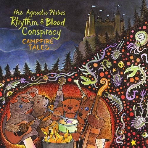 CD Recensie: The Agnostic-Phibes Rhythm & Blood Conspiracy - Campfire Tales