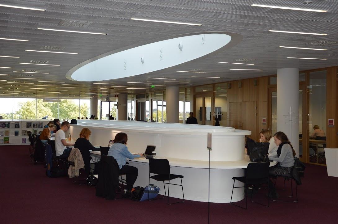 Kaisa Library, prostor za uporabnike