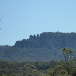The back of the Three sisters from the Sublime Point Trail (317837)