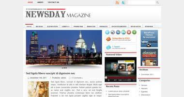 Free Wordpress Theme - Newsday
