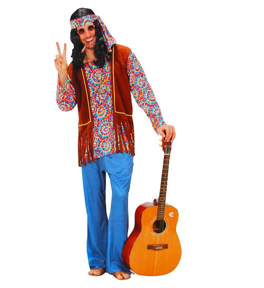 Pichardo disfraces temas hippies a os 70 - Hippies anos 70 ...