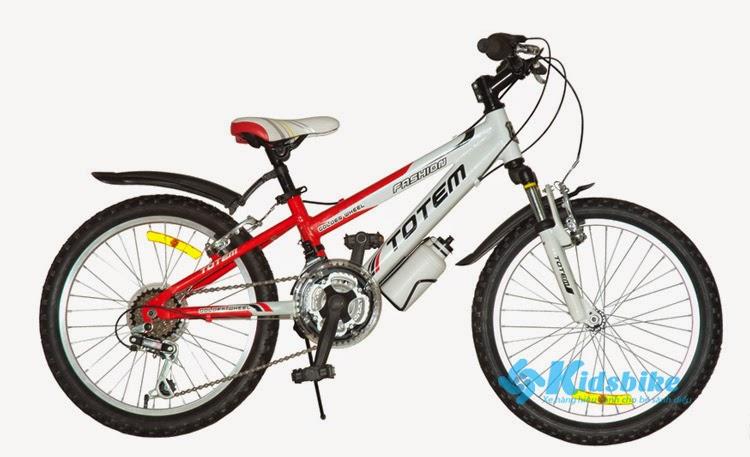 Xe đạp Totem TM226 màu đỏ - trắng và rất nhiều màu sắc khác có tại kidsbike.vn