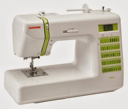 Janome DC2012 Decor Computerized Sewing Machine with 50 Built-In Stitches