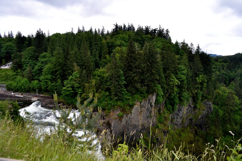 Водопады Сновколми, штат Вашингтон (Snoqualmie Falls, WA)