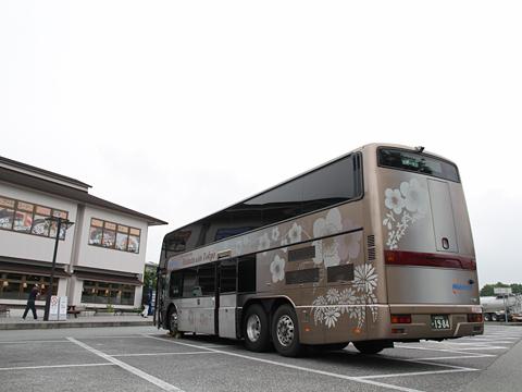 西日本鉄道「はかた号」 0002 日本平パーキングエリアにて その6
