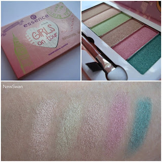 Girls on tour LE eyeshadow palette 01 style, set, go!