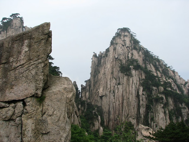 Rocky Mountains of Huangshan
