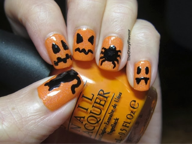 Halloween 2013 nails