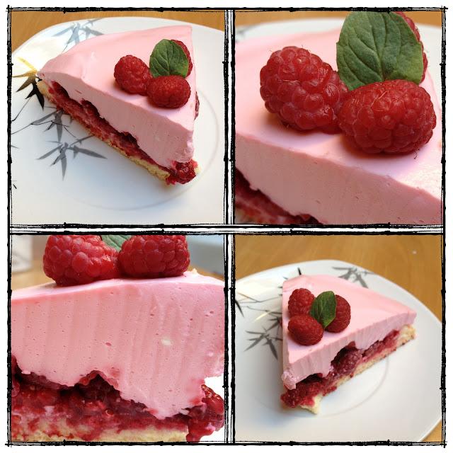 Mampf Dich Gesund Sommerkuchen Himbeer Joghurt Quark Torte