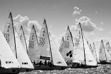J/22s sailng Rolex Womens Worlds- Rochester, NY
