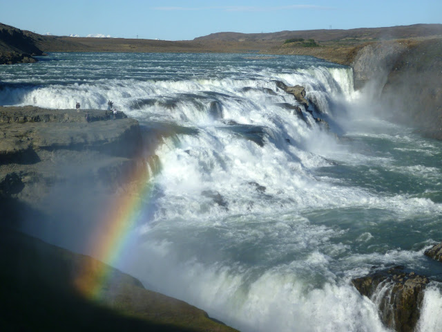 Rainbow at Gullfoss, Iceland
