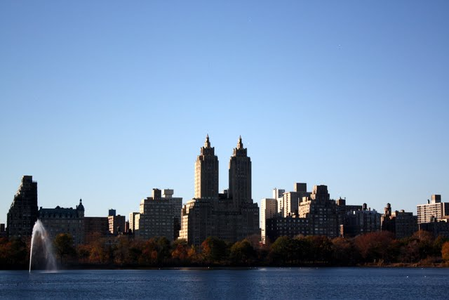 New York City as seen from Central Park