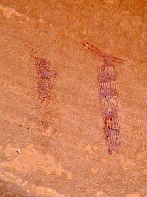 High Alcove pictographs