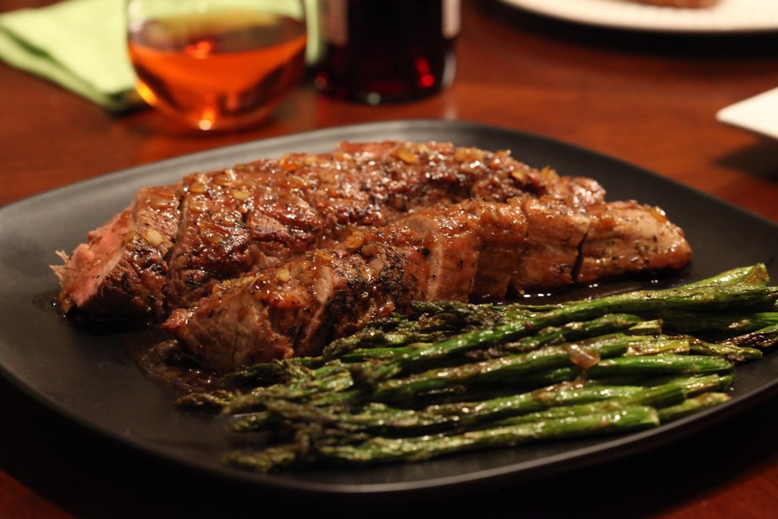 Bo's Bowl: Pork Tenderloin with Maple Dijon Glaze