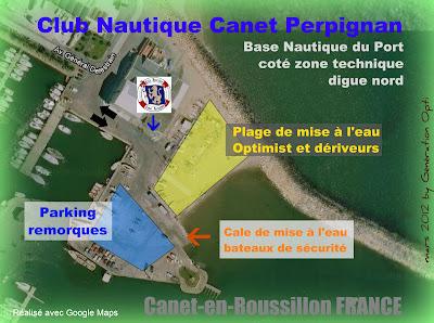 Optimist opti voile compétition Canet-en-roussillon base nautique régate