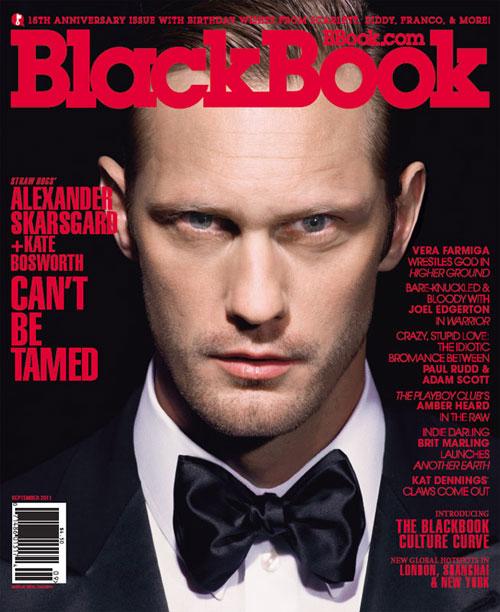 Alexander Skarsgård by Andrew Macpherson for BlackBook, Sept 2011