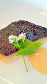 Nodoguro June 2014 Firefly Theme Dinner, Cherry smoked black cod with miso jam and soba