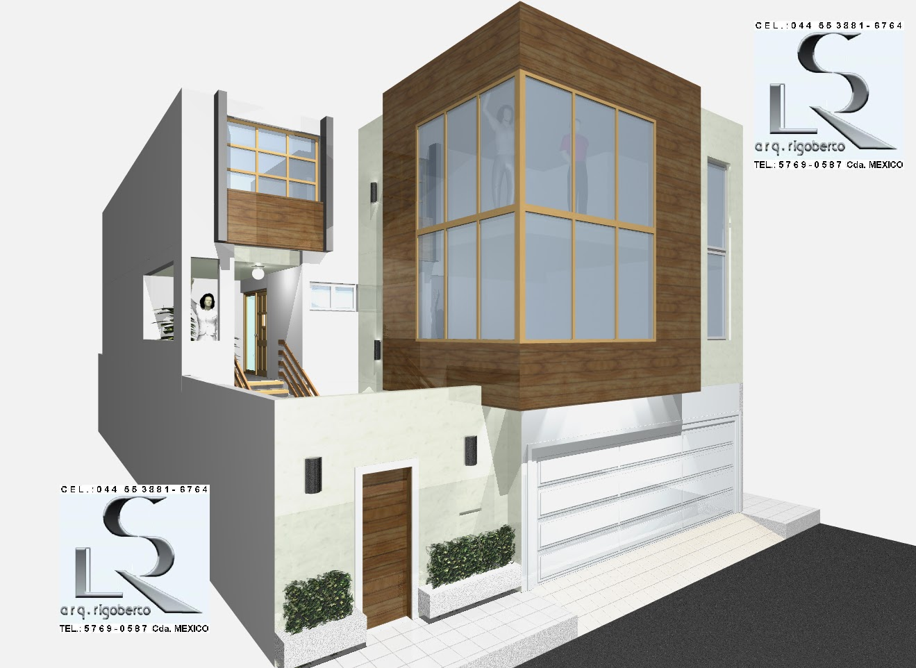 Dise o arquitect nico en 3d proyectos arquitect nicos en for Disenos arquitectonicos casas