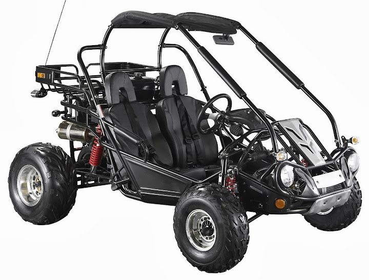 Black 250cc Twister Dune Buggy