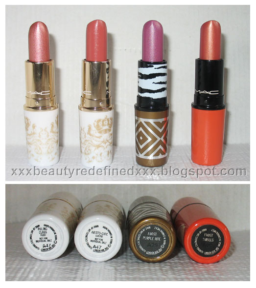 BeautyRedefined by Pang: My MAC lipsticks Collection :)