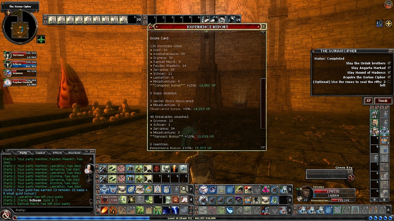 Quest report 2