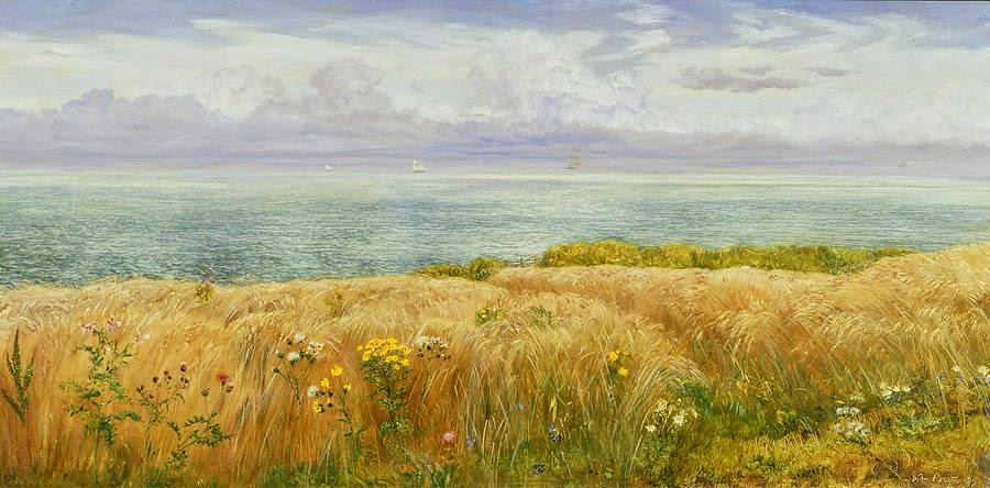 John Edward Brett - Summer On The Cliffs